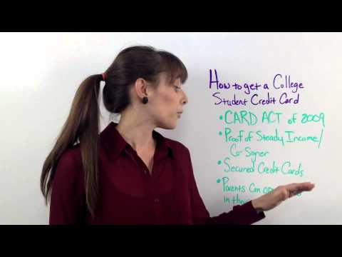 How To Get Col Student Credit Card