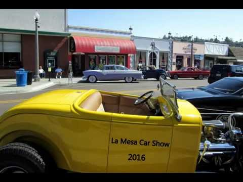 The La Mesa Car Show YouTube - Mesa car show