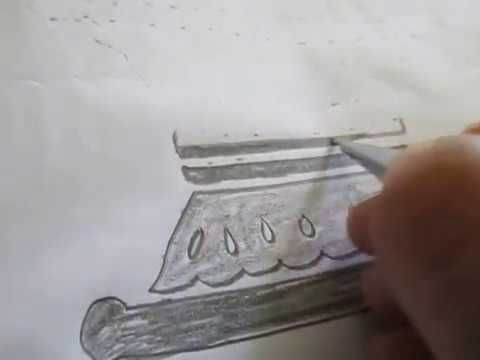 Lord shiva lingam pencil drawing tutorial video