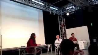 有賀先生、盛口先生への対談&質問タイム 英語マニュアル&プログラムを...