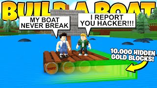 HIDDEN STRONGEST BOAT EVER! Build a Boat