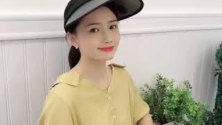 UV차단 여성 썬캡 넓은챙 햇빛가리개 모자