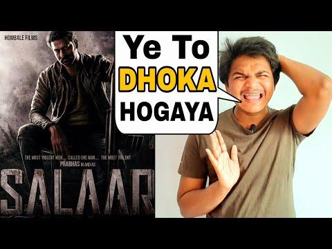 Salaar Movie   Poster Review By Suraj Kumar   Prabhas , Prashanth Neel  