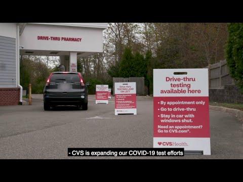 Self-swab COVID-19 testing at CVS Pharmacy locations