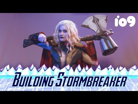 how to build thor s new hammer step by step cos play youtube