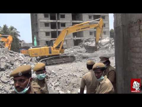 Chennai (moulivakkam) Building Collapse | Ananda Vikatan