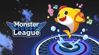Bébé requin Est Arrivé | Monster Super League | Collaboration Bébé requin
