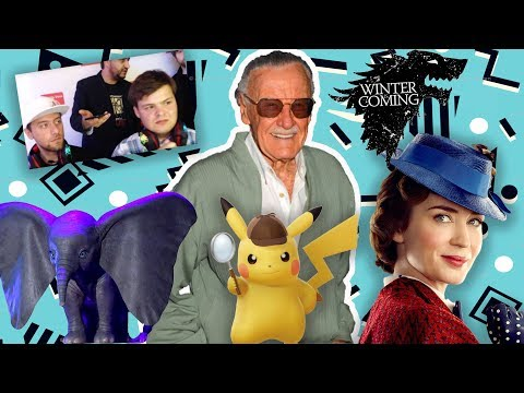 STAN LEE PASSES AWAY, NINTENDO RUSSIA CEO IS NUTS, TRAILERS GALORE! | The BS On the INTERNET