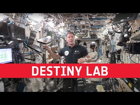 Destiny laboratory  a day in the life of Thomas Pesquet