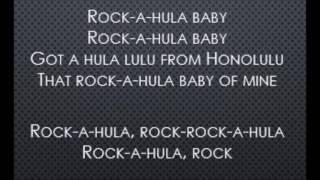 Rock-A-Hula Baby -  Elvis Presley (Lyrics)
