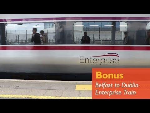 Riding The Belfast To Dublin Enterprise Train