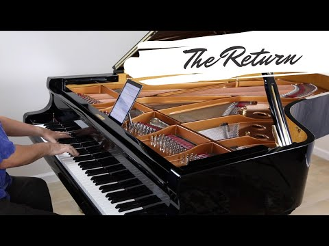 The Return -  David Hicken - The Art Of Piano - Music Video - Amazing Piano Solo