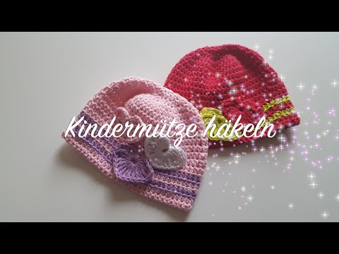 Kindermütze häkeln für Anfänger Anleitung – Takatsuki Mütze häkeln – Häkelmädel