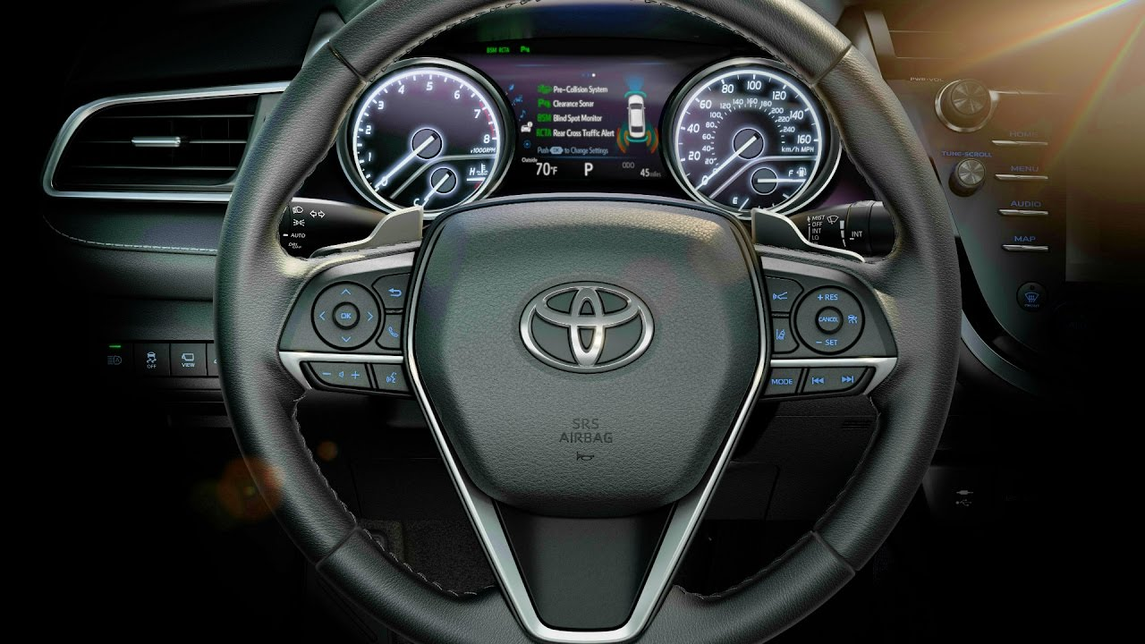 2018 toyota camry xse interior youtube for 2018 toyota camry xse interior