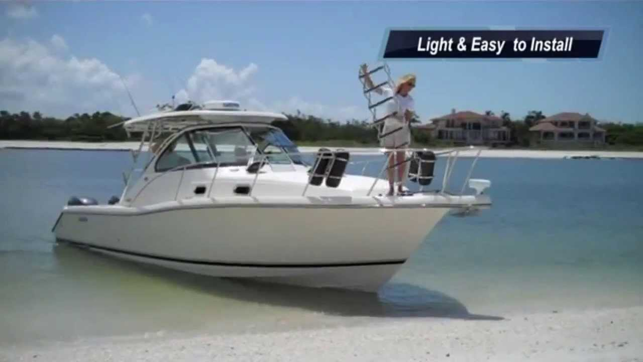 Bow Of A Boat >> Bow To Beach Boat Ladders By Boating Buddy At The Boat Ladders Store