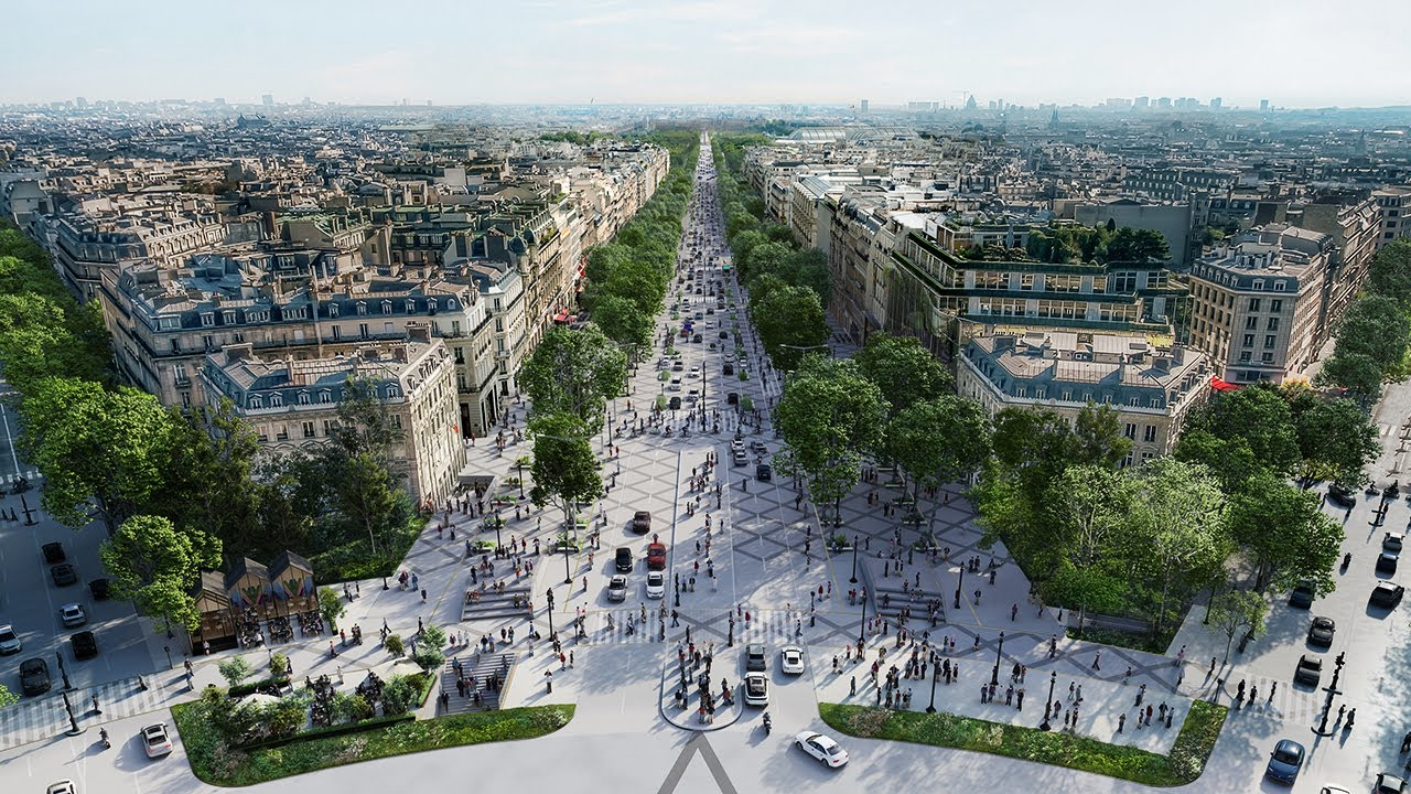 Paris' Grand Plan to Become Europe's Greenest City