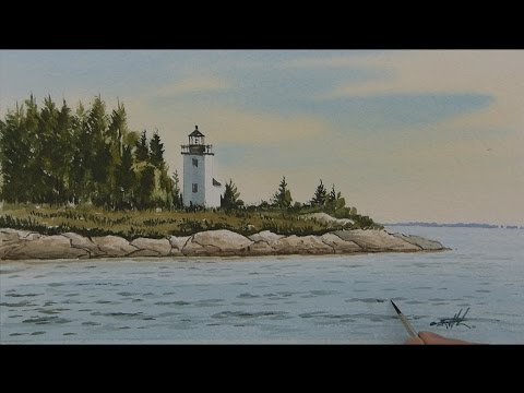 Watercolor Workshop Eps 15 The Little Lighthouse