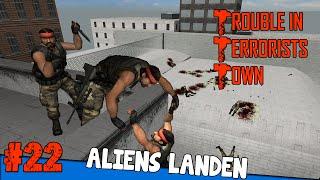 Die Aliens landen - Trouble in Terrorists Town #22 - mit Dhalucard & mehr   Earliboy