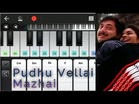 Pudhu Vellai Mazhai | Chords & Notes | Roja | A R Rahman | Maniratnam | Aravind Swamy | Piano