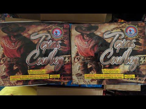 3️⃣0️⃣shot 500gr X2️⃣: TEXAS COWBOY( FISHERMAN FIREWORKS)6️⃣0️⃣shots!!!