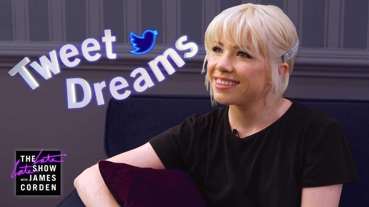 Carly Rae Jepsen Reads Tweet Dreams