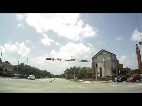 Houston Driving:  Upper Kirby District to Sienna Plantation