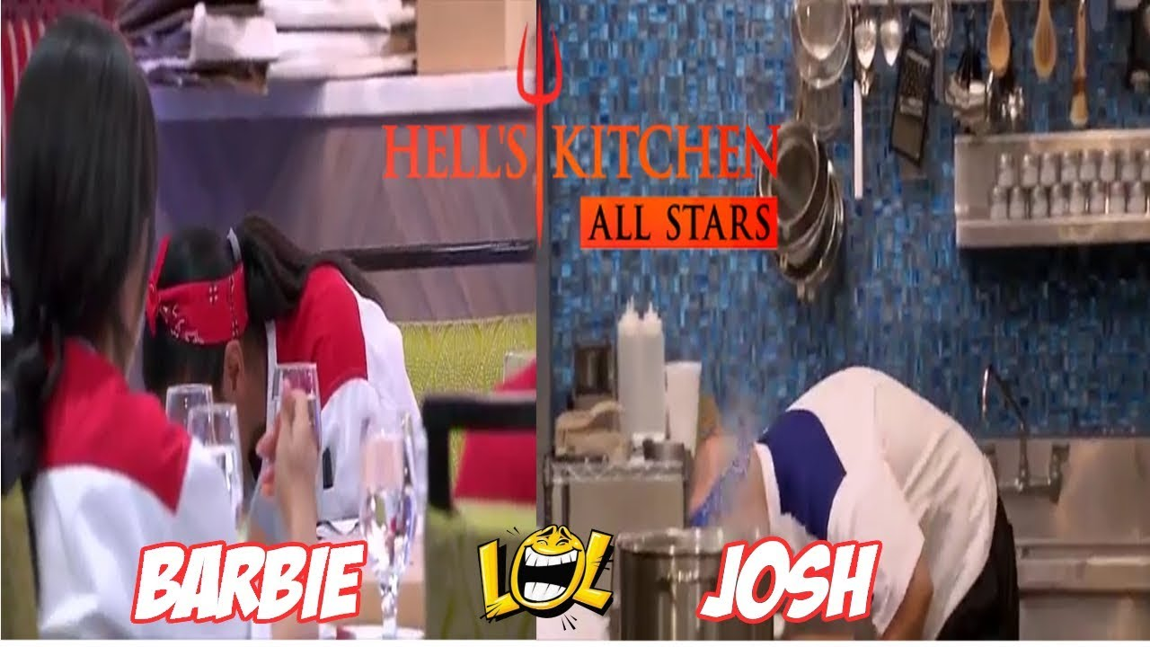 Hell S Kitchen Us Season 17 Episode 3 Josh And Barbie Get Sick