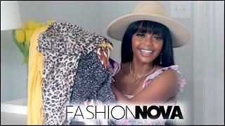 Fashion Nova Hot Girl Summer Dresses Haul 2021