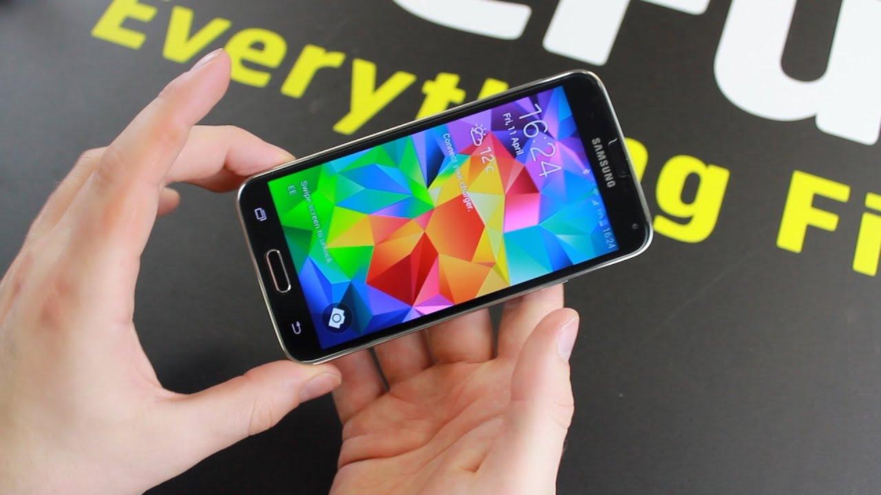 online store 47a4e aa60f Spigen Glas.tR NANO SLIM Samsung Galaxy S5 Tempered Glass Screen Protector  Hands On