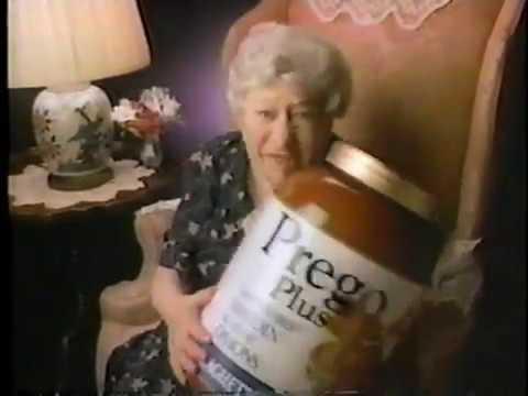 Prego Plus Commercial (Clara Peller), 1985