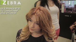 Видео: омбре - волос окрашивания стиль (Днепропетровск, салон