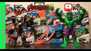 The Avengers Age of Ultron Hot Wheels Iron Man Hulk All About the Toys