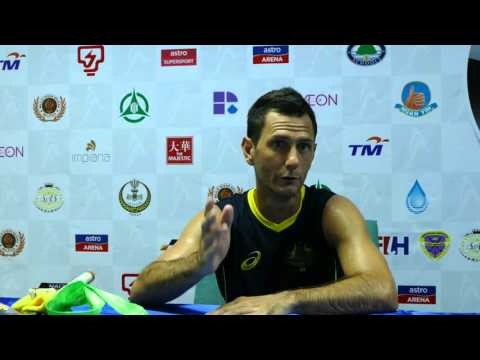 Australia Press conference post Pakistan match. Sultan Azlan Shah Cup Ipoh 2016,
