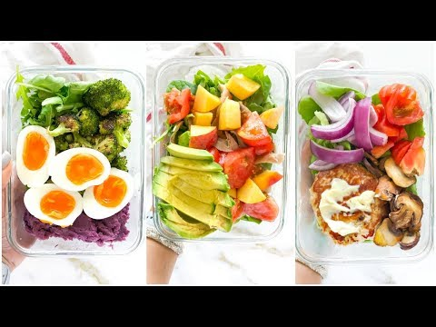 3 Healthy Lunch Recipes | lunch recipes for school or work!