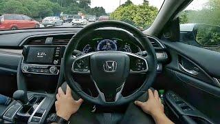 2020 Civic 1.5L Turbo First Drive + Honda Sensing Demos