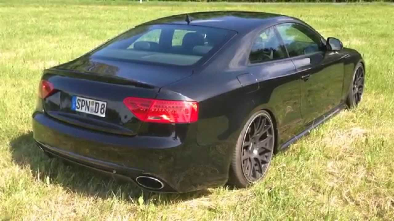 Audi A5 3 0 Tdi Sound Exhaust Rs5 Youtube