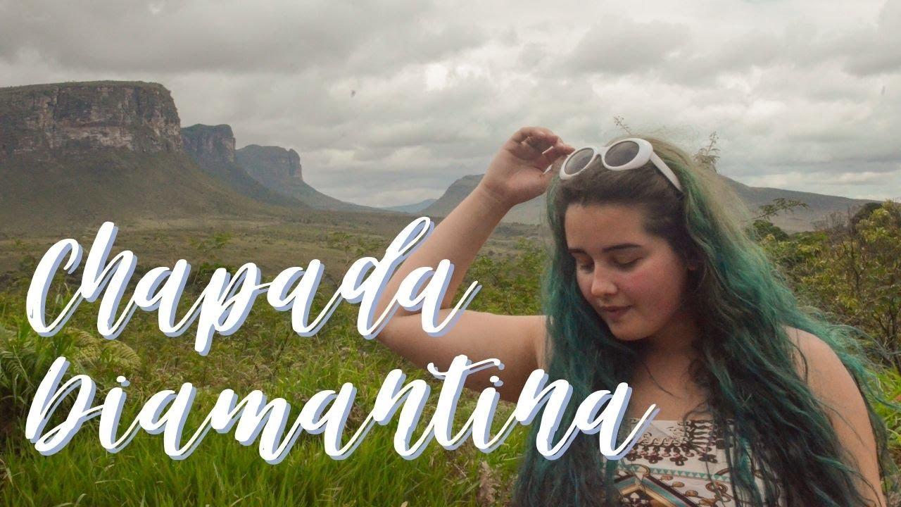 POÇO DO DIABO E CAVERNA TORRINHA | Vlog de viagem Chapada Diamantina | Júlia Orige