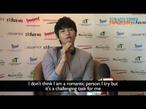 He's no romantic (Song Joong Ki