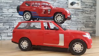Super Kids Toys: Range Rover Unboxing Toyota Prado Review Play Video for Kids