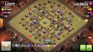 QueenWalk + Bowitch Pekka | TH11 Best Army Best War Strategi | Clash Of Clans
