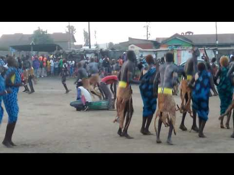 Dinka traditional dance in Nakuru-aloch