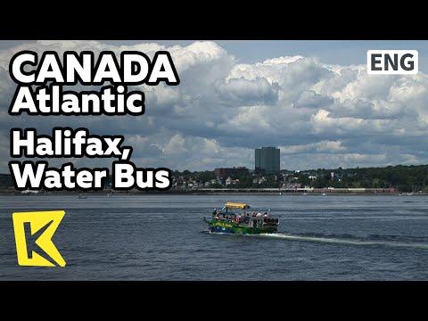 【K】Canada Travel-Atlantic[캐나다 여행-애틀랜틱] 핼리팩스, 수상버스 투어/Halifax Water Bus/Tour/Amphibious Vehicle