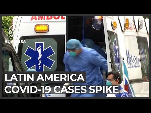 Latin America's COVID-19