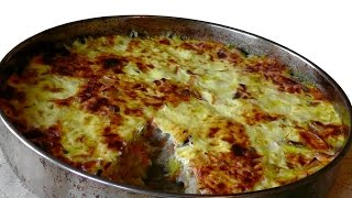 Рецепт блюда без мяса. Рис с грибами и яблоками в духовке