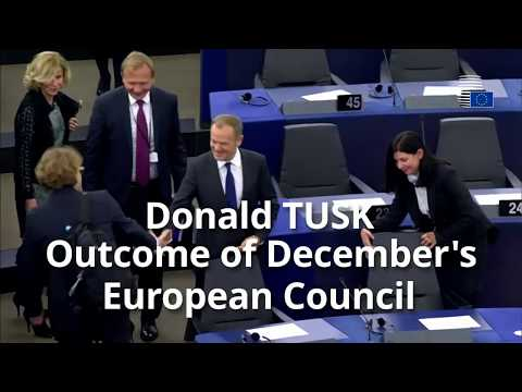 President Tusk on the outcome of the European Council