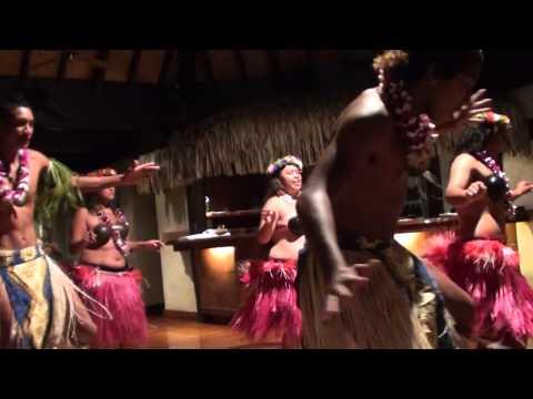 Aitutaki, Cook Islands Dancers at the Beautiful Pacific Resort HD