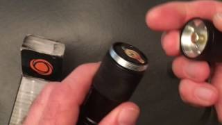 Solaray PRO ZX-1 Tactical LED Flashlight Demo and Review