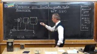 Урок 304. Электронные пучки. Электронно-лучевая трубка. Осциллограф