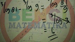 Cara cepat Belajar Logaritma part1-Gulam Halim