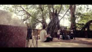 (HD) Amazing Banyan -  Daniel Waples - Hang drum solo - Goa, India